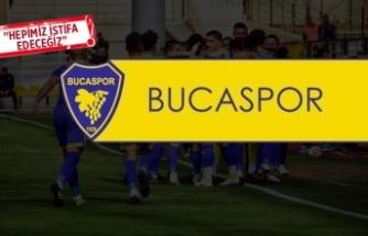 Bucaspor'da yönetim bırakıyor