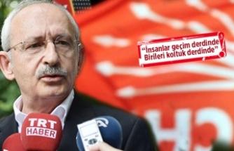 CHP lideri Kılıçdaroğlu'dan kurultay çıkışı