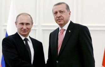 Erdoğan ve Putin, Suriye ve Enerji politikalarını görüştü