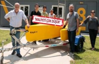 İnsansız deniz aracı İzmir'de tanıtıldı