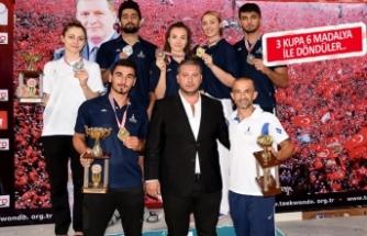İzmirli sporcular, Çankırı'da fırtına estirdi