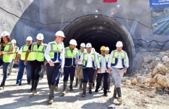 İzmir'İn en uzun tünelinde 'Koca' denetim