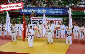 Karşıyaka'da Judo Şampiyonası'na muhteşem final