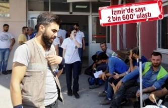 Manisa'da 92 işçi gıda zehirlenmesi şüphesiyle hastanede