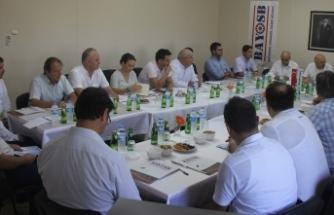 OSB temsilcileri, Bağyurdu'nda bir araya geldi