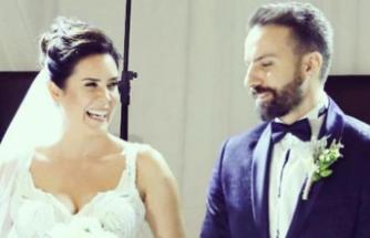 Oyuncu çift evlendi... Düğüne ünlü yağdı!