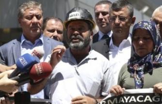 Soma'daki maden faciasında yakınlarını kaybedenler Ankara'da