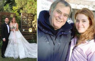 Tarık Akan'ın kızı evlendi