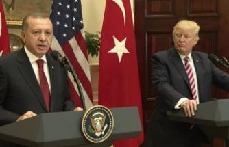"""Trump, Erdoğan'ı ayrı tuttu, """"İşleri doğru yapıyor"""""""