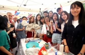 'Ülkeler Panayırı' 22 ülkeden gençleri buluşturdu