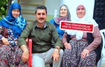 Üreten kadınlara Kemalpaşa'dan büyük destek