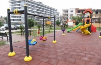 Yenilenen parklar büyük beğeni aldı