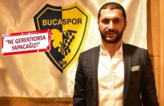 Bucaspor'un yeni başkanı Cihan Aktaş oldu