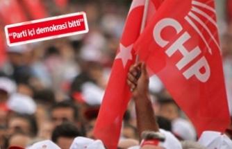 CHP İzmir İl Başkan adayı olmuştu, partiden istifa etti