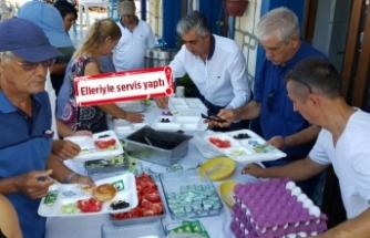 CHP'li Beko'dan bin kişilik teşekkür kahvaltısı