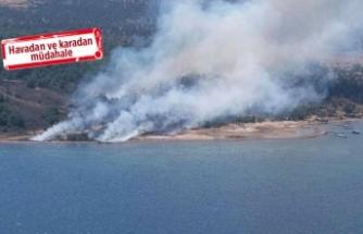 Cunda Adası yanıyor!