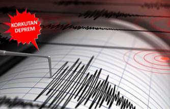 Ege Denizi'nde korkutan deprem! Şiddeti...