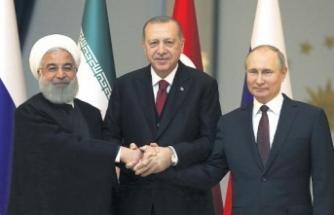 Erdoğan, Putin ve Ruhani'den üçlü zirve