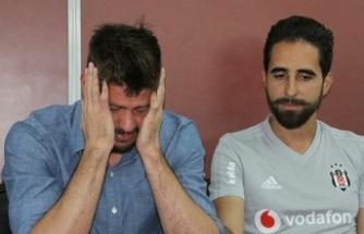 Fabri,Beşiktaş'a gözyaşlarıyla veda etti