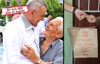 Gaziemir, 700 ihtiyaç sahibi aileye dokundu