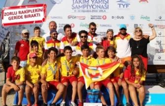 Göztepe, yelkende Türkiye Şampiyonu oldu