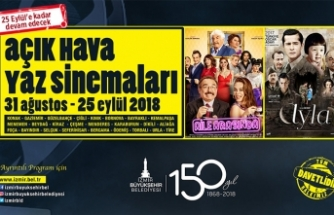 İzmirliler filme doyacak: 25 ilçede 50 gösterim