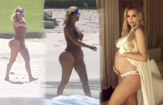 Kardashian'dan kalça şov!