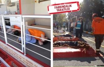 Karşıyaka'dan 4 yılda 100 bin kişiye 'afet' eğitimi