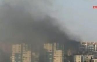 O ilde yangın! Alevler evlerin çatılarına sıçradı