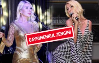 Seda Sayan, 9 milyon TL değerinde gayrimenkul sahibi oldu