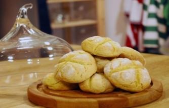 5 dakikalık margarinsiz kurabiye tarifi!