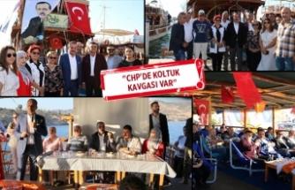 AK Parti Foça'dan 'tekne' toplantısı