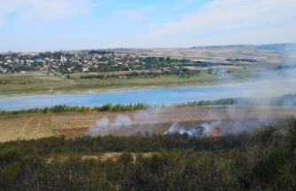 Arnavutköy'de 50 dönüm makilik alan yandı