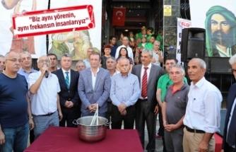 Başkan Karabağ, derneklerin 'aşure' etkinliklerine katıldı
