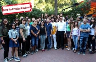Bornova'dan üniversite öğrencilerine büyük destek