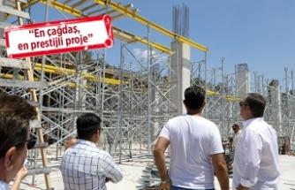 Buca'nın prestij projesi yükseliyor!