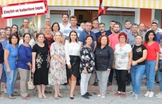 CHP Seferihisar İlçe Örgütü'nden Başkan'a destek!