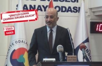EBSO'nun konuğu olan Gürses: Türkiye'nin yolu IMF'ye gider!