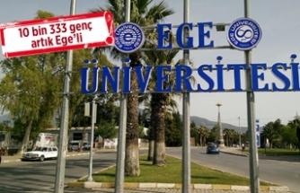 Ege Üniversitesi'ne yoğun ilgi