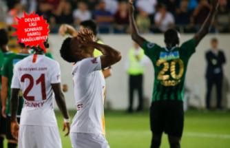 Galatasaray, Akhisar'da liderliği bıraktı!