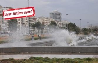 İzmir'de sıcaklıklar 10 derece düşecek!