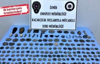 İzmir de 'tarihi eser' operasyonu