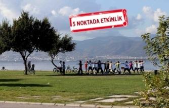 Karşıyakalılar sezonu açtı: Her sabah yoga, zumba, pilates...