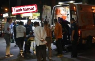 Kavgaya müdahale eden polis memuru bıçaklandı