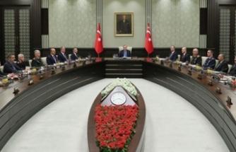 MGK toplantısı sonra erdi; 'Yurt dışı operasyonları sürecek' mesajı