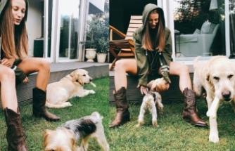 Serenay Sarıkaya: Aile zamanı