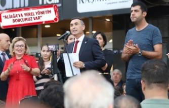 CHP Aliağa'da Durmaz resmen aday adayı!