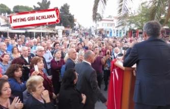 CHP'li Biçer Foça için yola çıktı