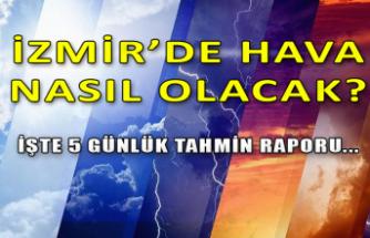 İzmir'de hava nasıl olacak?