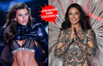 Adriana Lima'nın Victoria's Secret'tan ayrılması Georgia Fowler'a yaradı